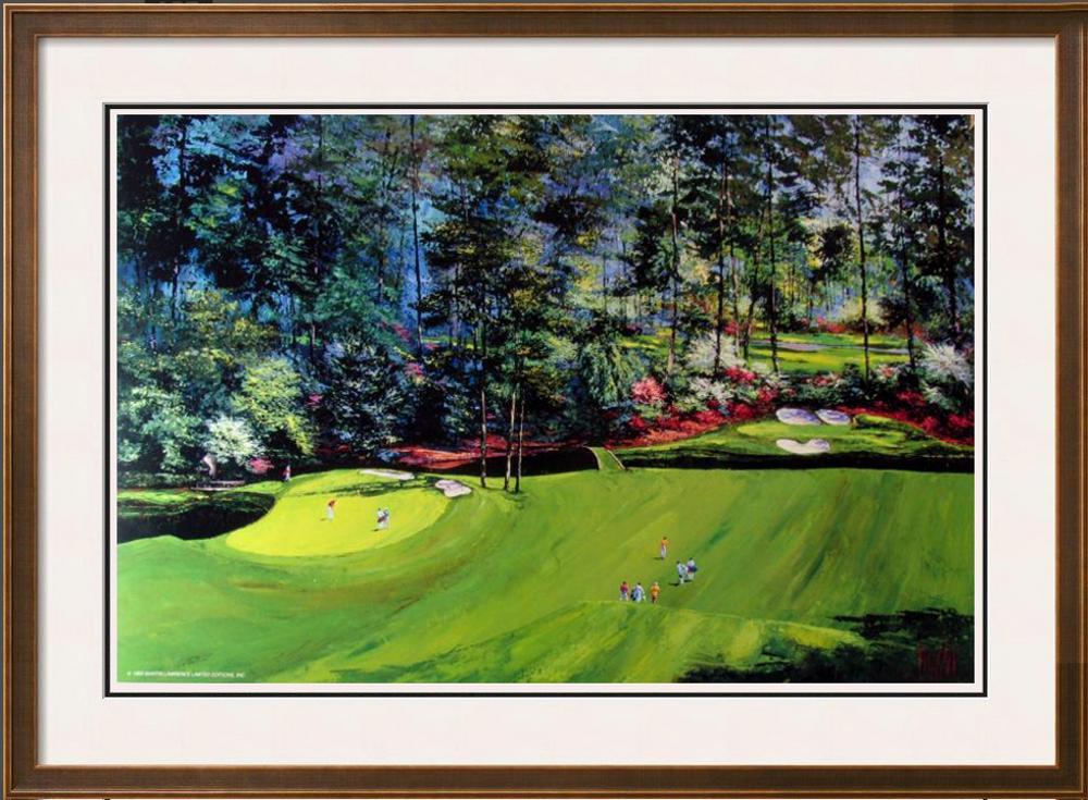 Golf Mark Framed Art Mark King Golf