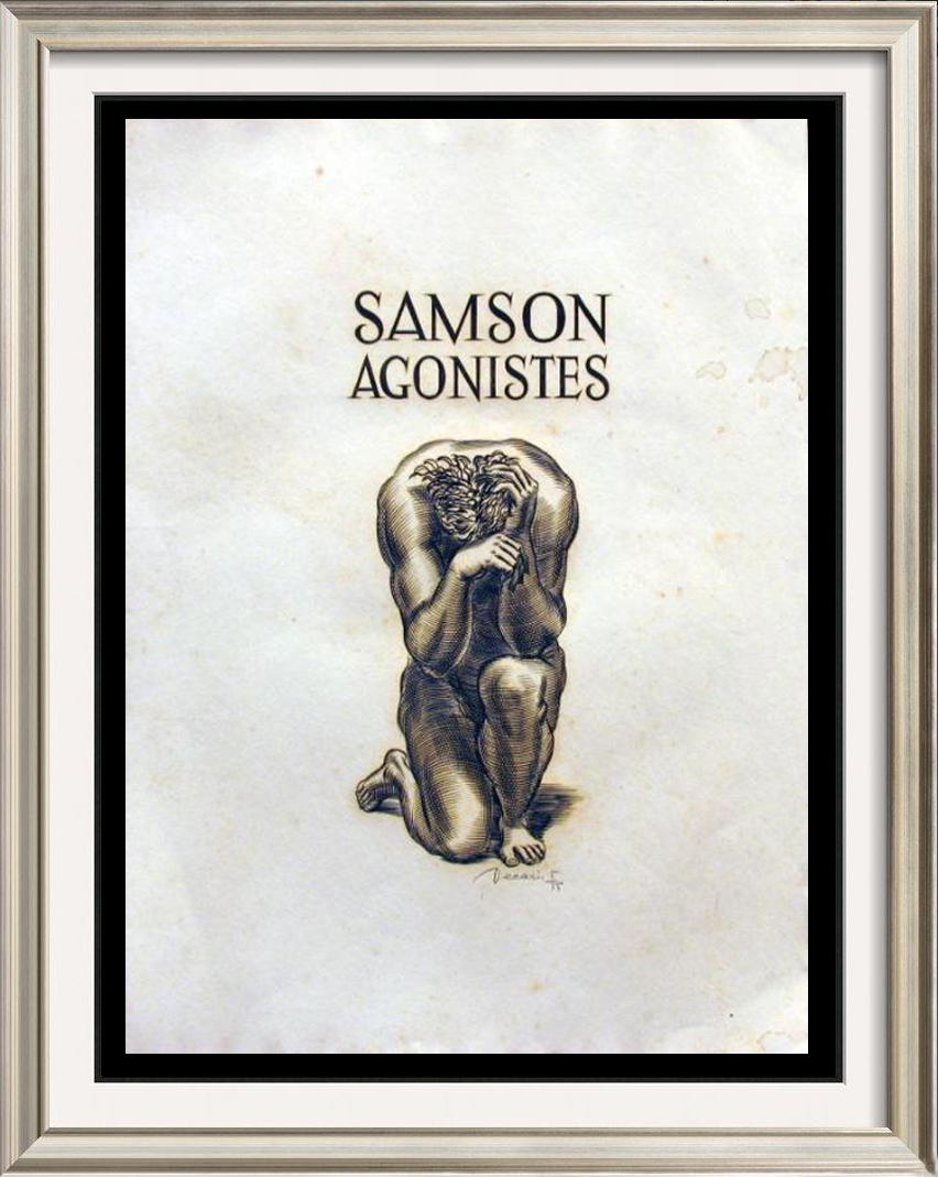 essay on samson agonistes Samson agonistes is an obvious work of christen tragedy early in the poem, the chorus reveals to the reader that samson is indeed great, but blinded both physically and metaphorically milton writes, thou art become (o worst imprisonment.