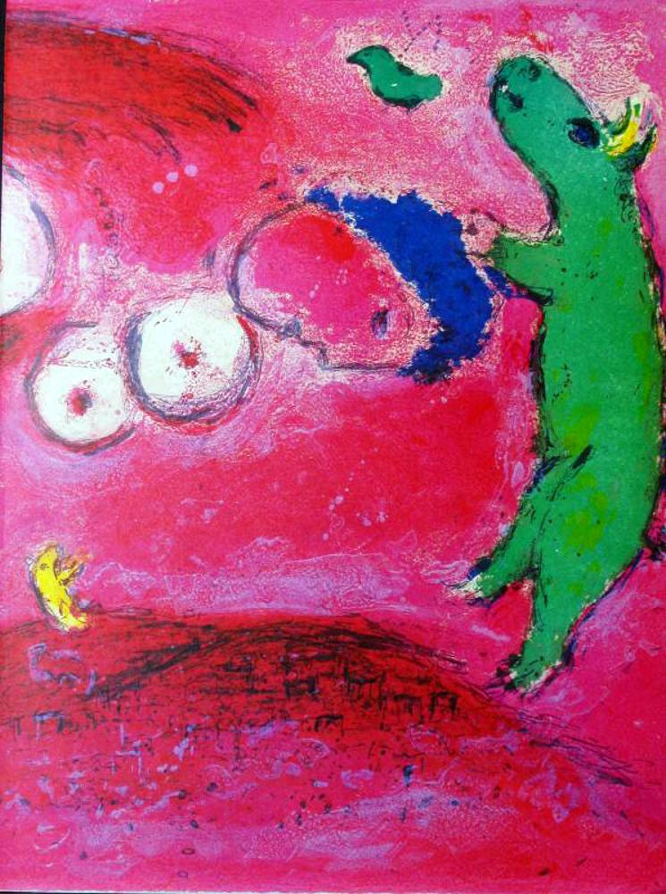 Marc Chagall Fly Away - Click Image to Close